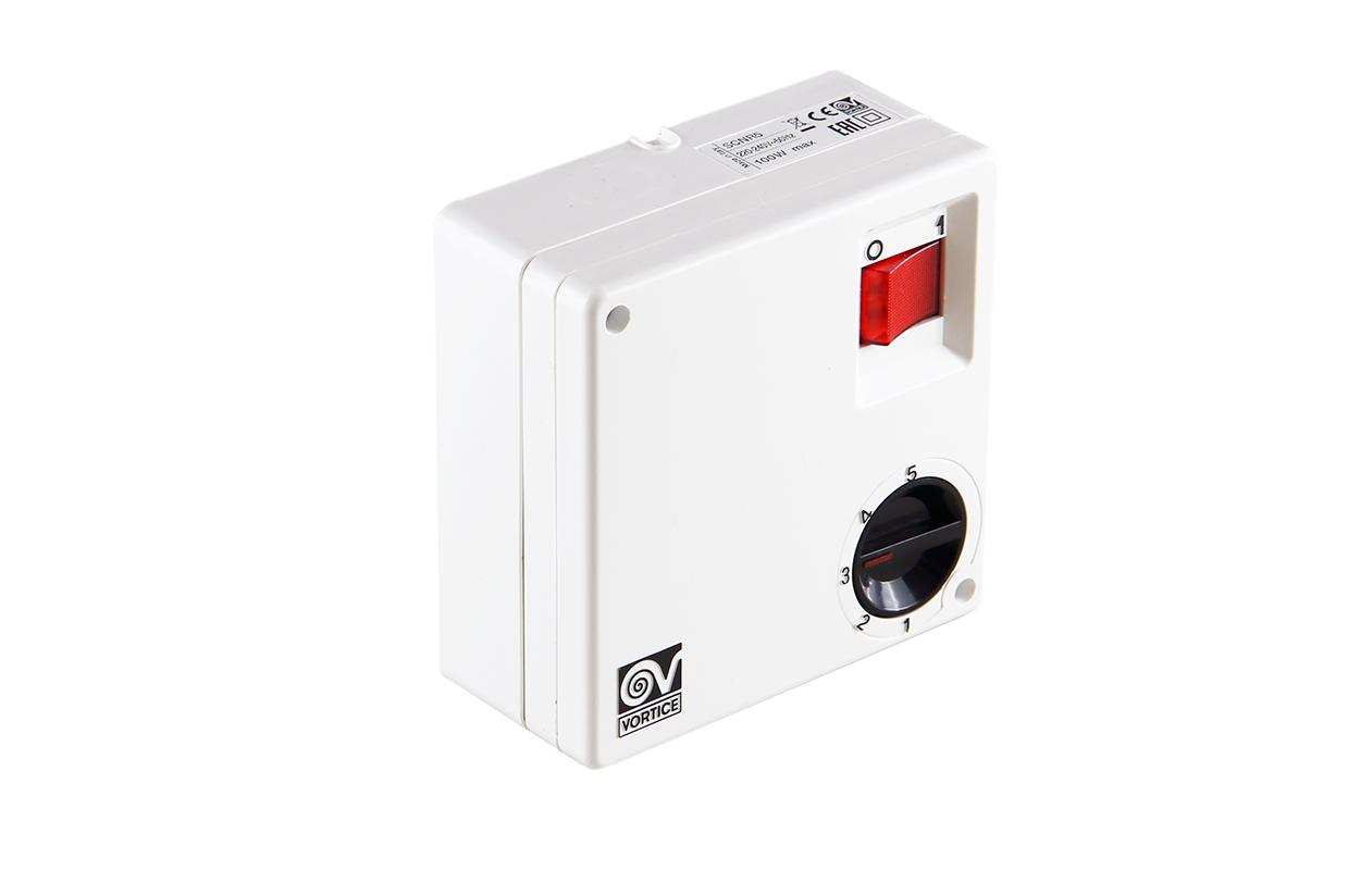 Регулятор скорости вентилятора 5-ти ступенчатый SCNR 5