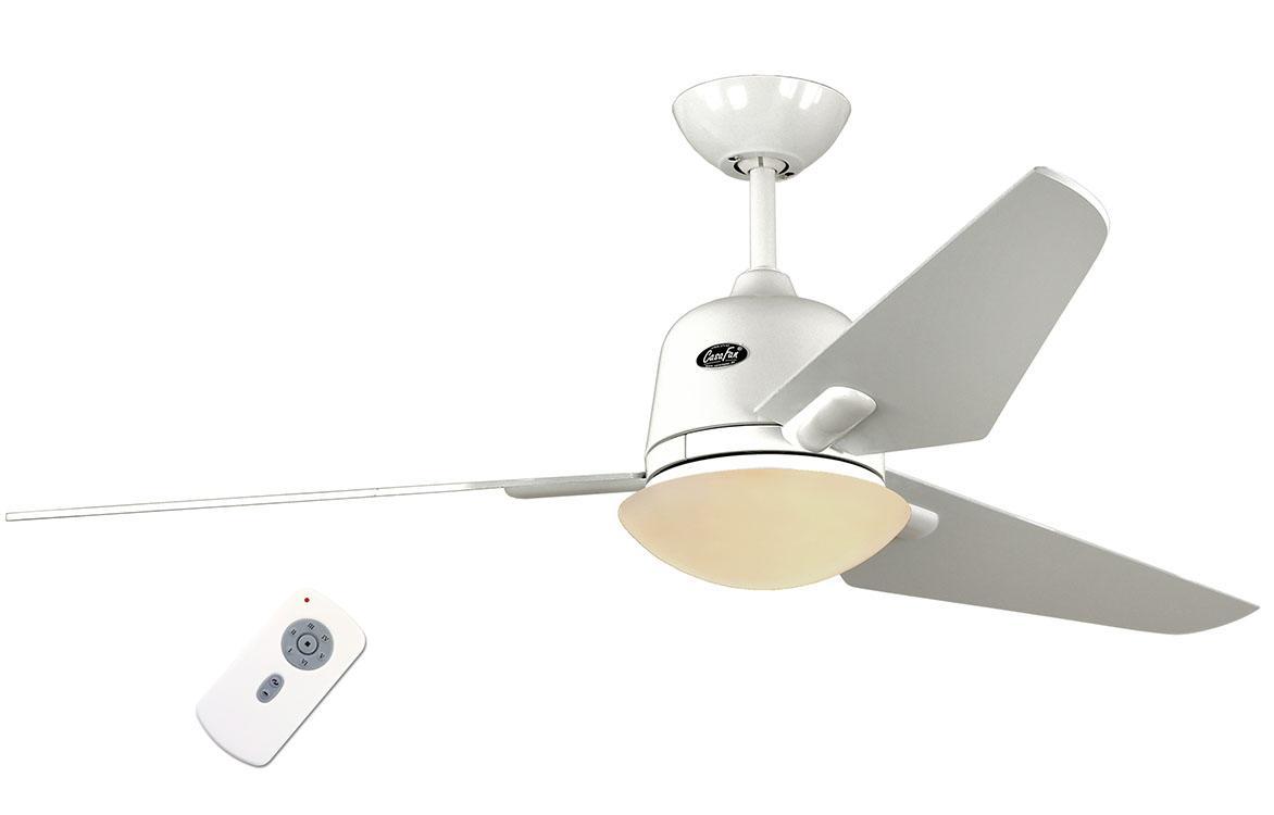 Люстра - вентилятор (потолочный вентилятор со светильником) Casafan Eco Aviatos 132 WE-WE RC