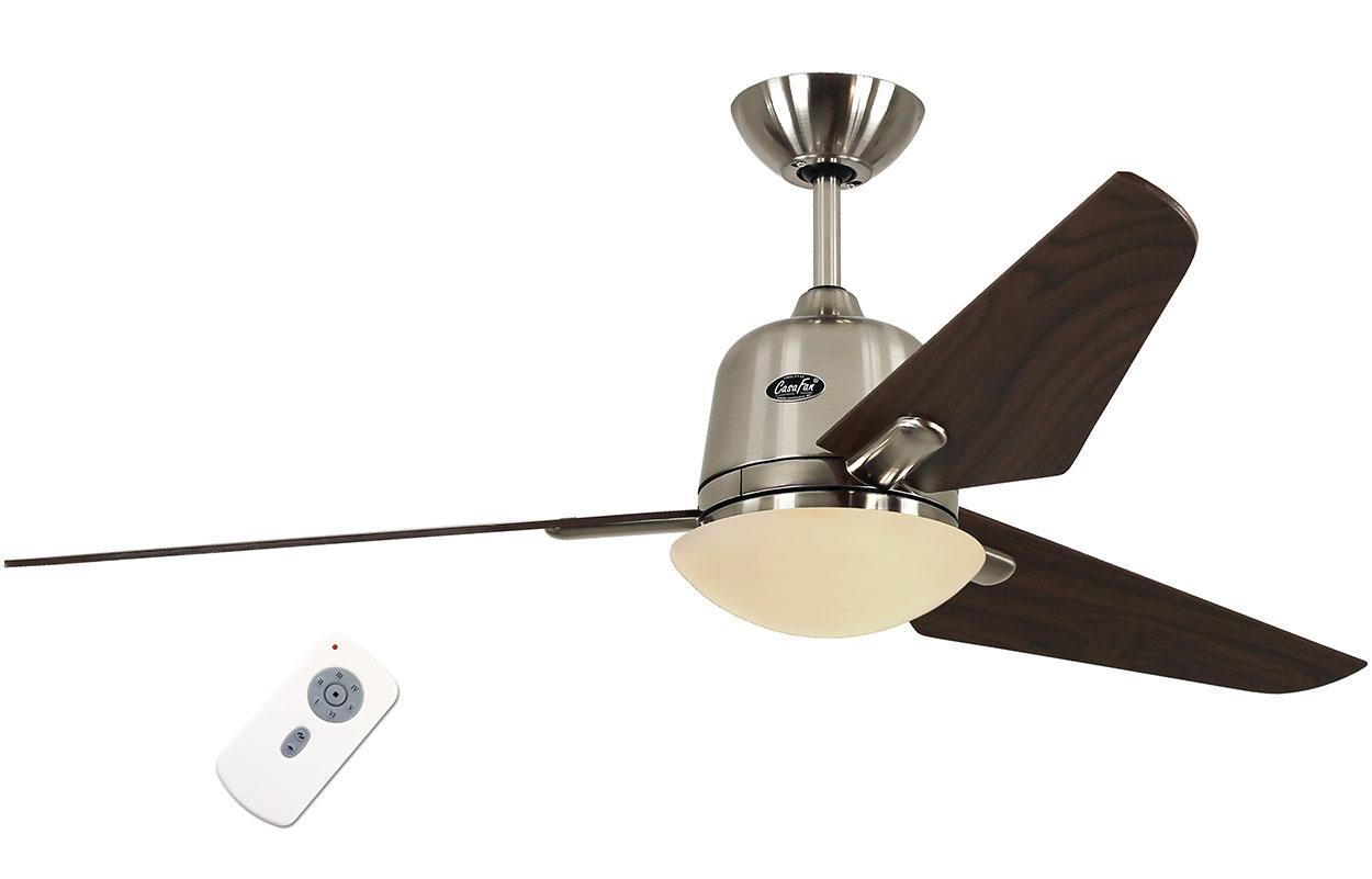 Люстра - вентилятор (потолочный вентилятор со светильником) Casafan Eco Aviatos 132 BN-NB RC