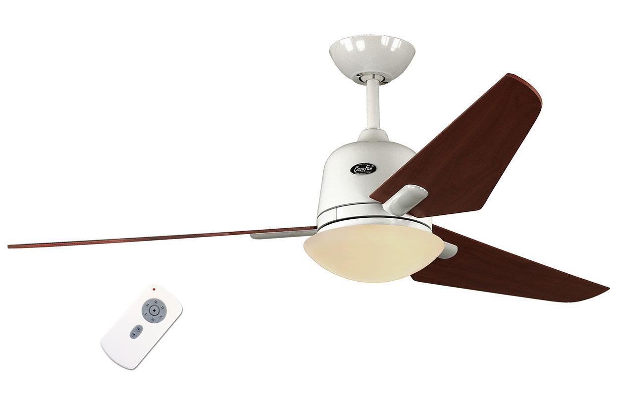 Люстра - вентилятор (потолочный вентилятор со светильником) Casafan Eco Aviatos 132 WE-KI RC