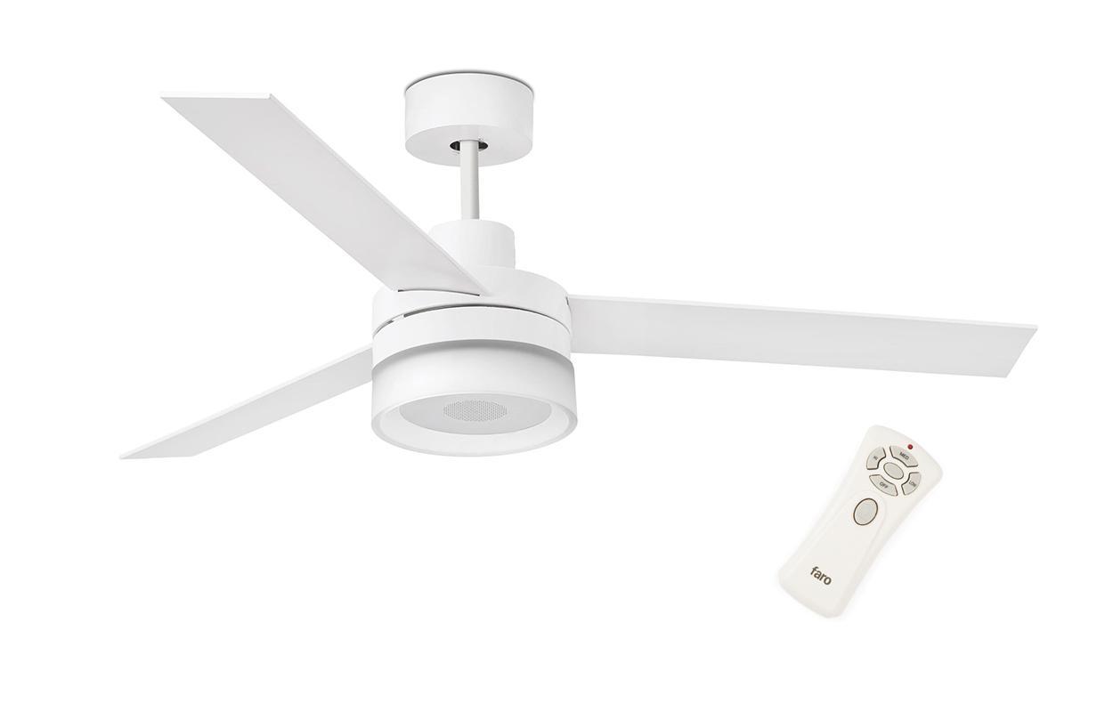 Люстра - вентилятор (потолочный вентилятор со светильником) Ice White