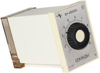 Реле времени ВЛ-43 110в 50гц 0,1-1сек