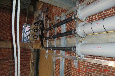 Промежуточные испытания токопровода