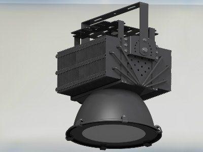 Подвесной промышленный светодиодный светильник XLD-HB400