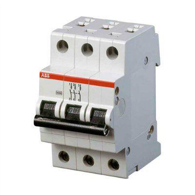 ABB S203 C20 Автоматический выключатель 3P 20А 6kA, 2CDS253001R0204
