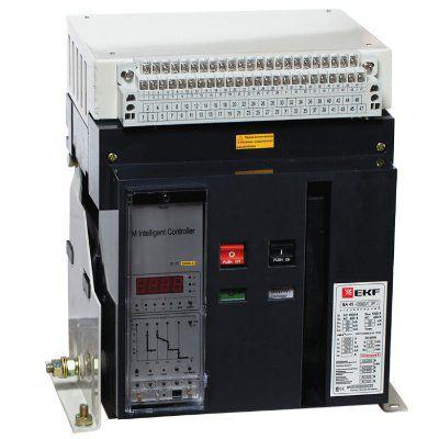 Автоматический выключатель ВА-45 3200/2900А 3P 80кА выкатной EKF