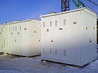 Комплектная трансформаторная подстанция КТП-250 киоскового типа