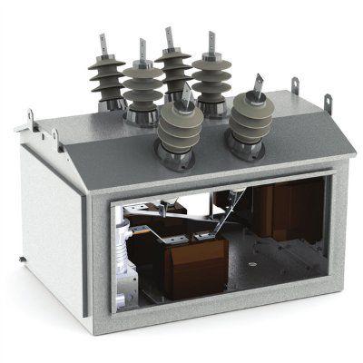 Реклоузер 2ПСС-6(10)-ВВ/TEL с двусторонним питанием