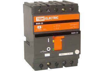 Автоматический выключатель ВА88-32 3Р 16А 25кА TDM (SQ0707-0001)