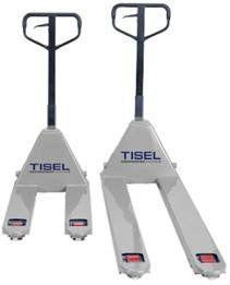 Тележка Гидравлические(рохля)Tisel Technics с длиной вил 800 мм. до 2 метров