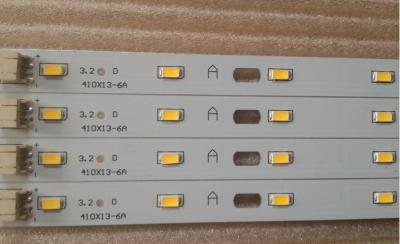 Белая-тёплая 3700К светодиодная линейка 8W 16LED 5730 300мА для изготовления/модернизации светильника 3200-3700K