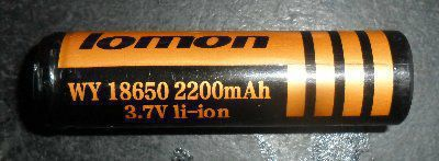 Аккумулятор 2200mAh lomon 18650 оригинал