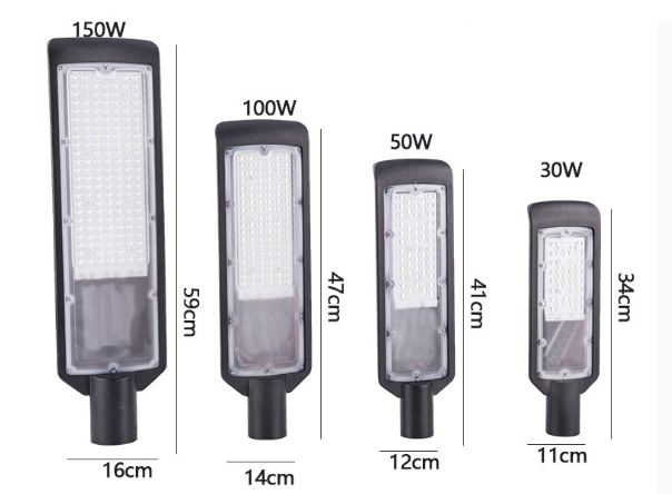 Светодиодный промышленный светильник консольный 50W (50W-150W)