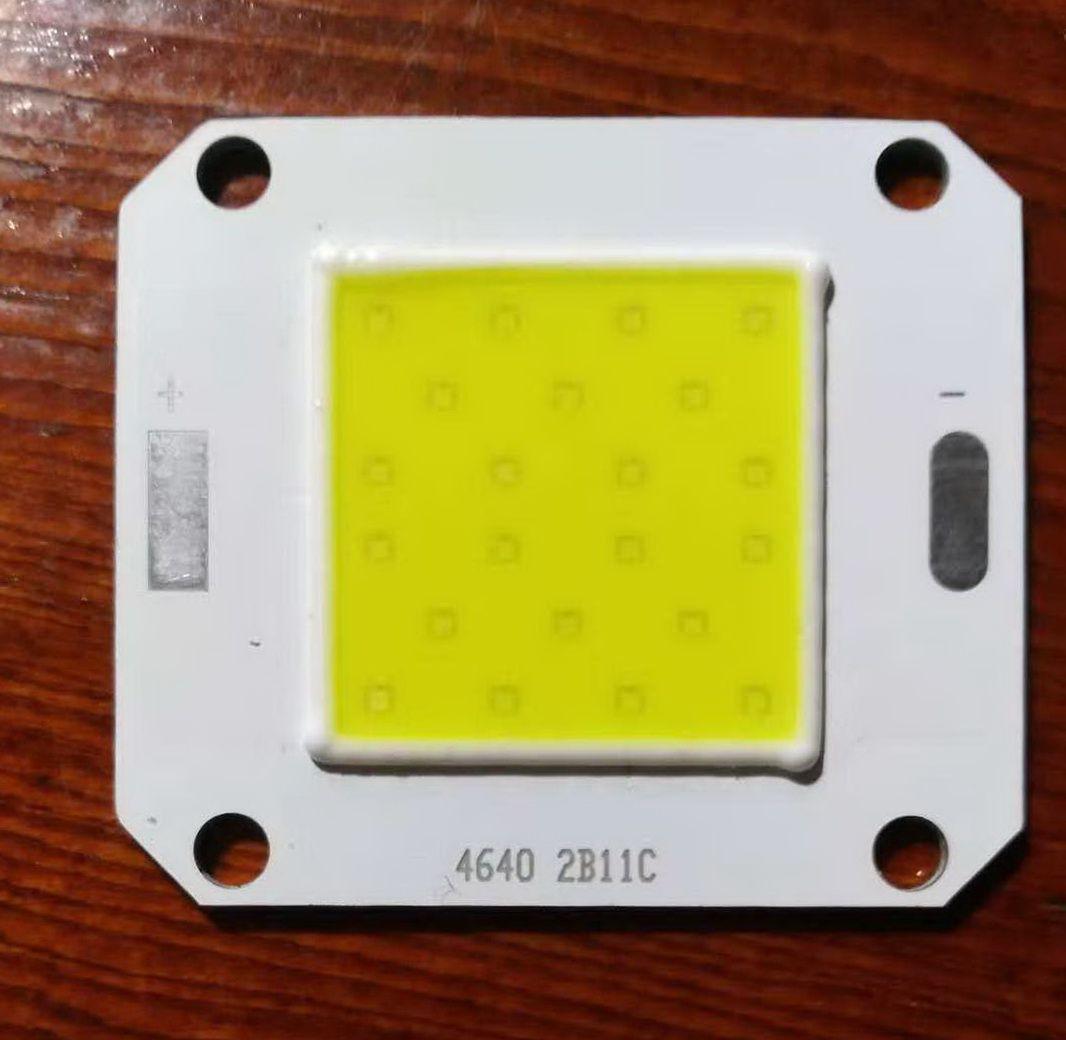 Светодиод-кластер-50Ват COB-50W 6500Lm 6500K 32-34V 1400ma