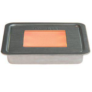 Светодиодный светильник EYELeds, встраиваемый, квадратный, для помещений, цвет красный.