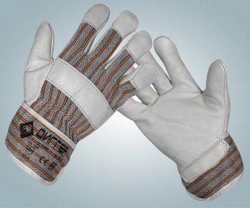 Перчатки ДИГГЕР кожаные комбинированные арт.Пер608