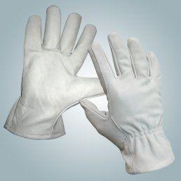 Перчатки ДИГГЕР кожаные серые (кожа КРС) арт.Пер310