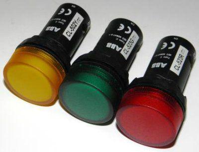 Контрольная лампа светодиодная cl r № v ac abb цена  Контрольная лампа светодиодная cl 523r №0733 230v ac abb