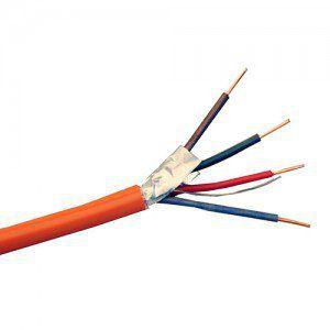 Кабель для систем ОПС и СОУЭ огнестойкий, не поддерживающий горения, экранированный КПСЭнг(А)-FRLS 2х2х1,0
