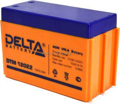 Аккумулятор свинцовый 12В 2,2 А/ч