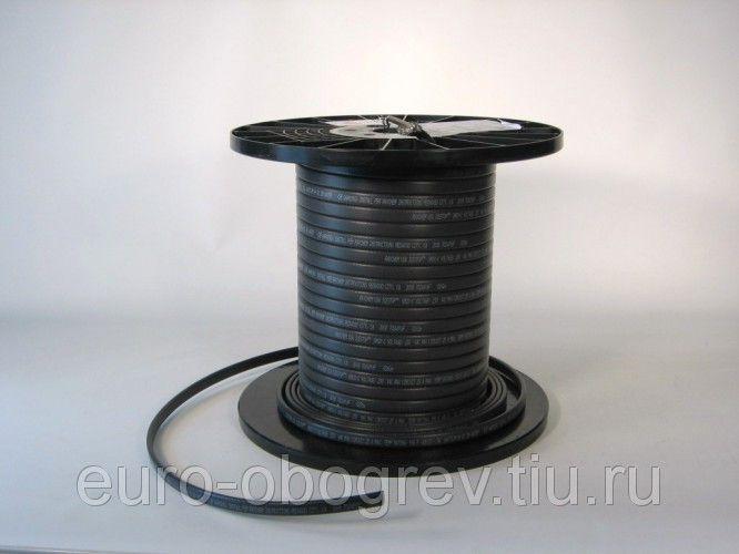 Саморегулирующийся греющий электрический кабель MHL 16-2CR (Экранированный)