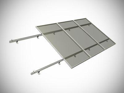 Комплект для монтажа солнечных панелей 100 Ватт 3 панели