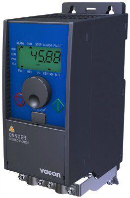 Частотный преобразователь Vacon 10 0010-1L-0001-2 на 0,25 кВт