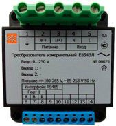 Преобразователи измерительные переменного тока и напряжения Е854ЭЛ