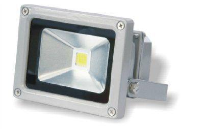 Прожектор 10Вт 800Лм светодиодный IP65 220В 6000К серый UTLED M1010А