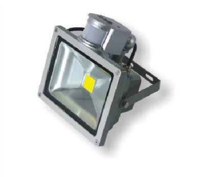 Прожектор с датчиком движения 30Вт 2400Лм IP65 220В серый UTLED M1030 S