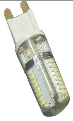 Уютель UTLED A G9-64X3014SN-360Lm, 220V5W-6000K, silicone, лампа светодиодная