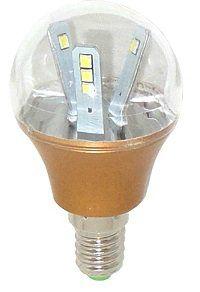 Уютель D 0410 UTLED P45-12X2835ES-350Lm-4W-E14-6000K-Gold, лампа светодиодная /200/