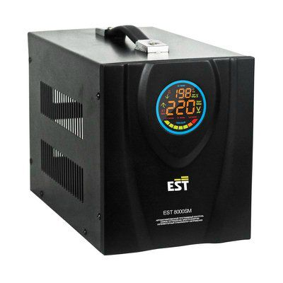 Стабилизатор напряжения EST 10000 TC симисторный переносной 220 В 048.191.076 САТ123