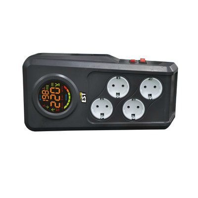 Стабилизатор напряжения EST 1500 DRS 1.5K релейный настольный 220 В 048.191.102 САТ294