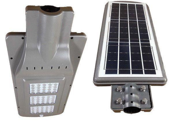 Светодиодная Кобра на солнечной батарее аккумулятор 3*5000mA датчик освещенности+датчик движения DC6V 20W 6500K UTLED Solar BST1020