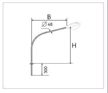 Кронштейн К1ГК-2,5-2,5-0,076-0,06