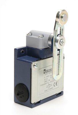 Концевой выключатель L5K25MEP122 ролик пластик на регулируемом рычажке