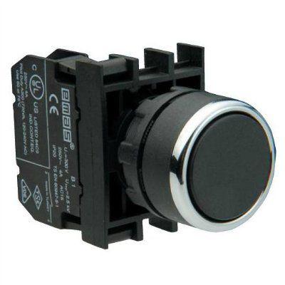 Кнопка чёрная со стрелкой B100DH-OD ТМ Емас