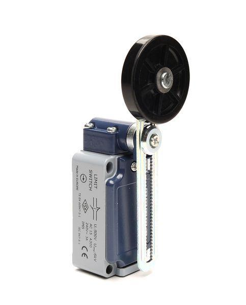 Концевой выключатель L5K23MEL123A с регулируемым роликом резиновым 50 мм