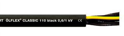 Кабель Olflex Classic 110 Black 0,6/1kV 3G0,75, 1120233