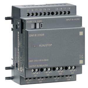 Модуль ввода-вывода 115/230V AC/DC, 8DI, 8AO реле5A, LOGO DM16 230R, в наличии