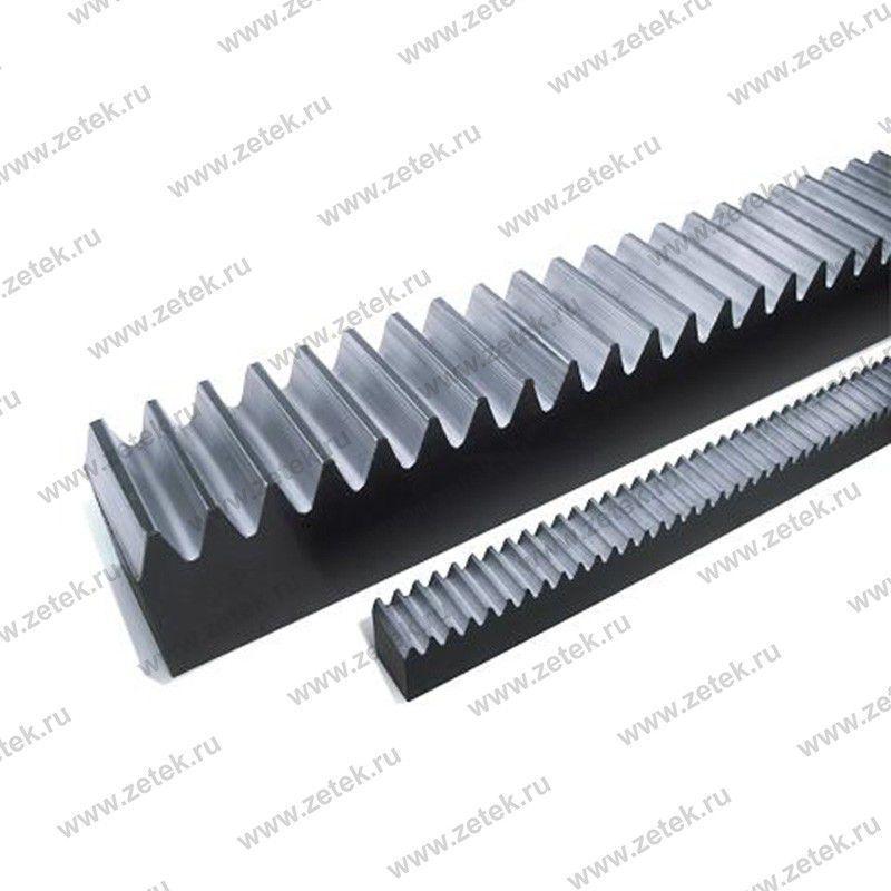 Зубчатые рейки M15L3000 (длина 3000 мм, модуль 1,5)
