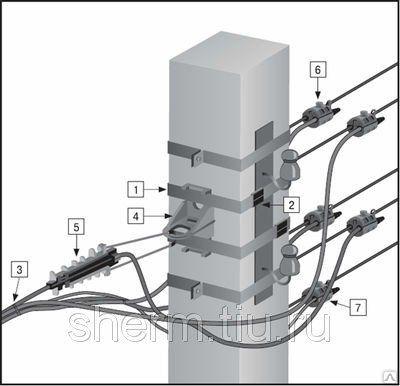 Монтаж воздушных линий ВЛ сталеалюминиевым проводом АС 6-10 кВ