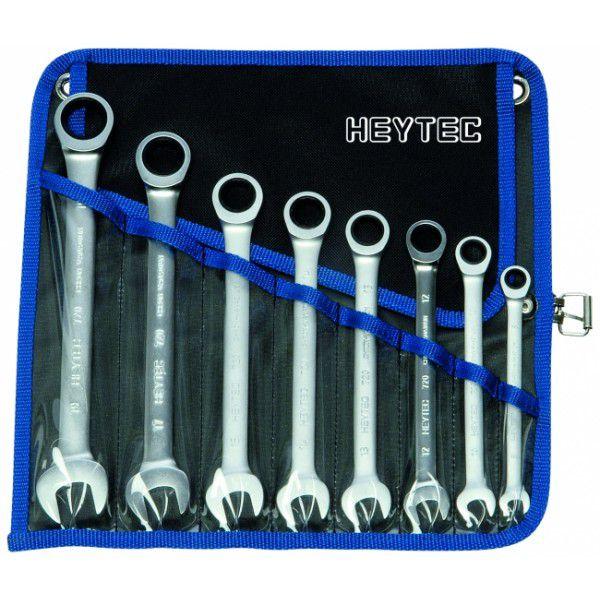 HEYCO Набор комбинированных трещоточных ключей R 50720-6-M 6 предметов HEYCO HE-50720600180