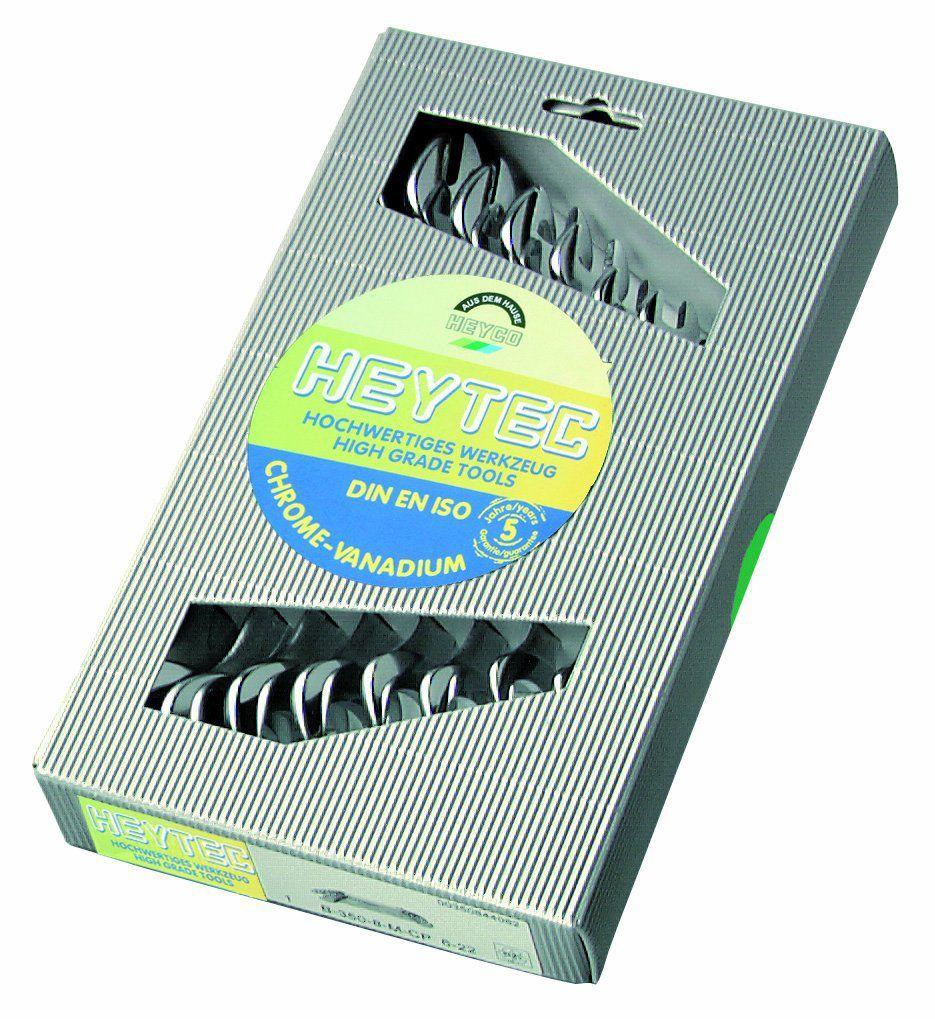 HEYCO Набор двусторонних рожковых гаечных ключей B 50800-8-M 8 предметов HEYCO HE-50800844080