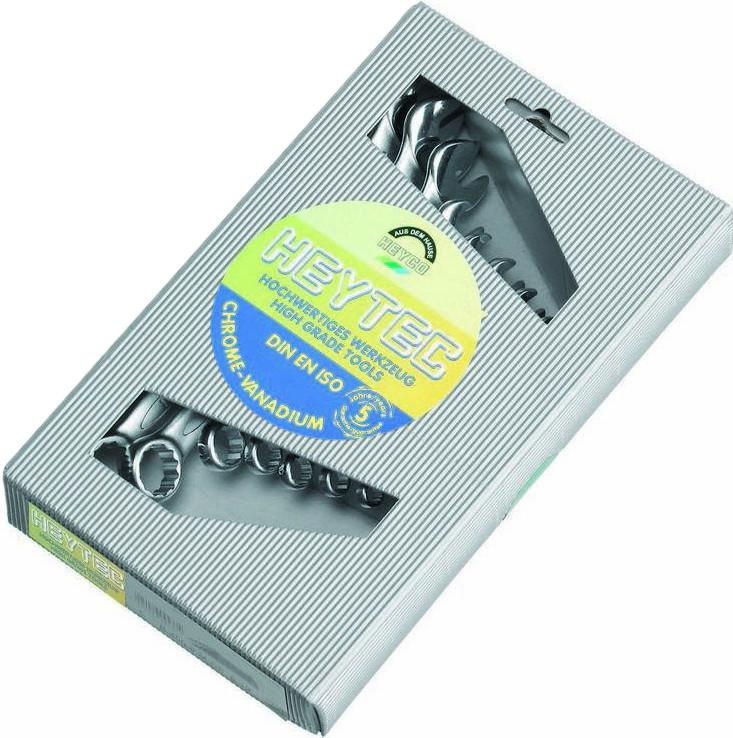 HEYCO Набор комбинированных ключей B 50810-8-M 8 предметов HEYCO HE-50810824280