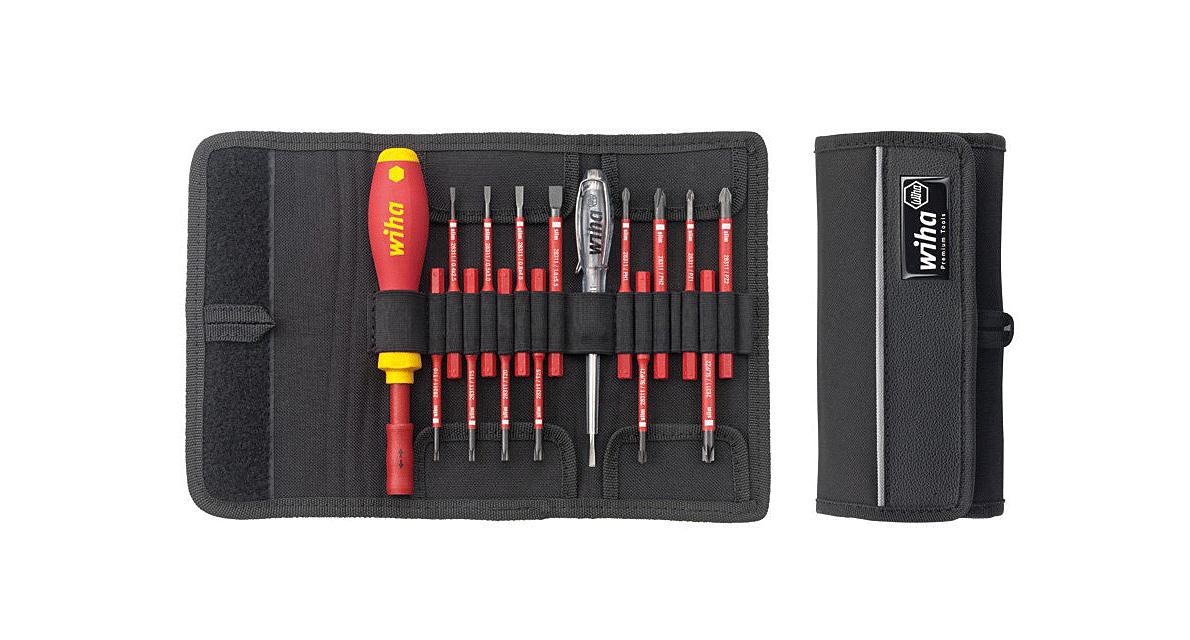 WIHA Профессиональный стартовый набор инструментов SlimVario VDE 2831 T16, 16 предметов Wiha 36068