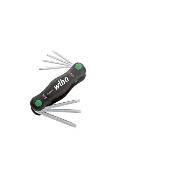 WIHA Набор шестигранных ключей TORX PocketStar 8 предметов Wiha 23053
