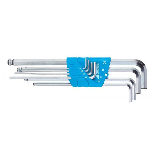 GEDORE Набор ключей шестигранных 8 предметов 2-10 мм H 42 KEL-88 GEDORE 1523988