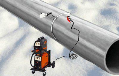 Клемма магнитная КМ-500А обратного сварочного провода